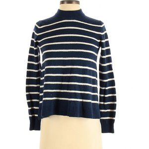Draper James Stripe Pullover Wool Blend Sweater XS
